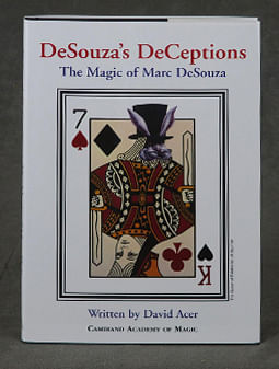 DeSouza's DeCeptions (with DVD) - magic