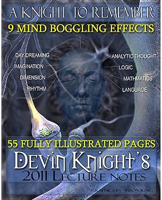 Devin Knight Lecture Notes - magic