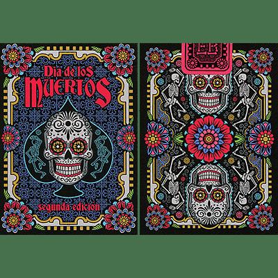 Dia de los Muertos Black Playing Card (2nd Edition) - magic