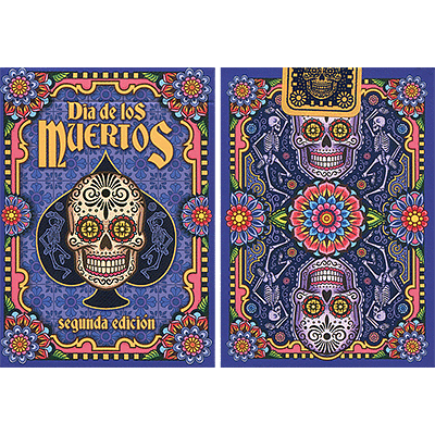 Dia de los Muertos Painted Playing Card (2nd Edition) - magic