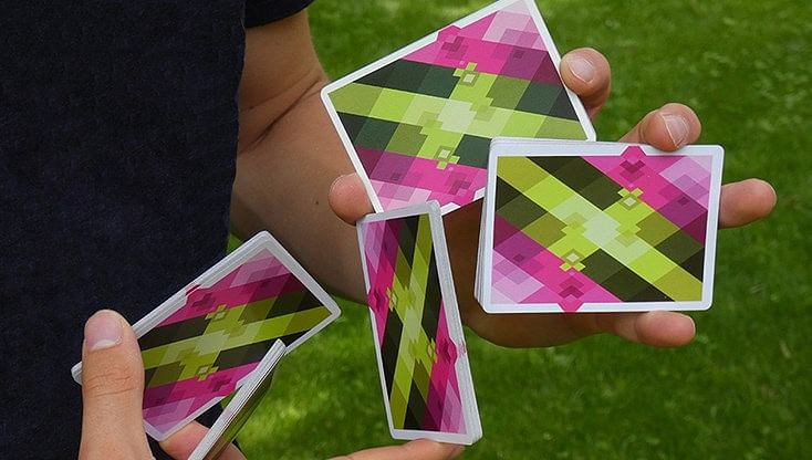 Diamon N° 8 Summer Bright Playing Cards