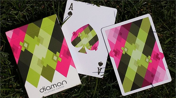 Diamon N° 8 Summer Bright Playing Cards  - magic
