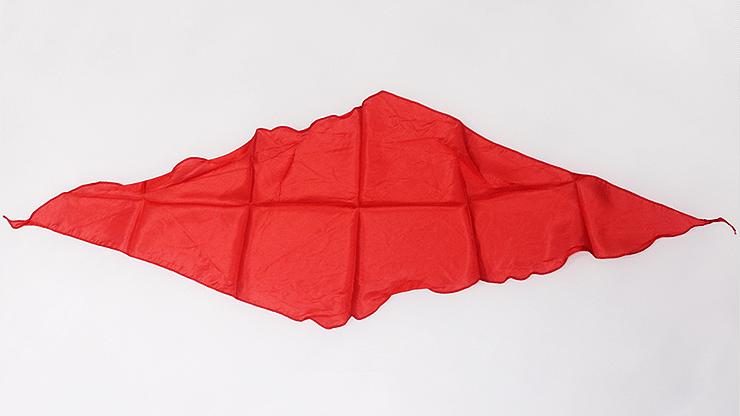 Diamond Cut Red Silk 24 inch - magic