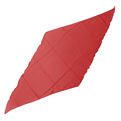 "Diamond Cut Silk 36"" (Red) - magic"