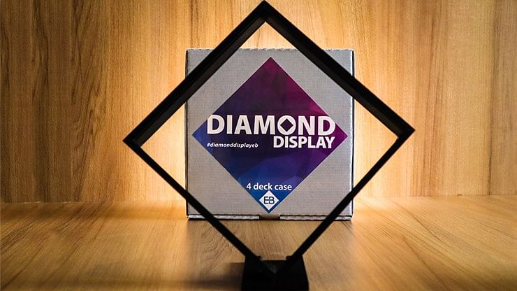 Diamond 4-Deck Display Case - magic