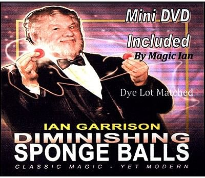 Diminishing Sponge Balls - magic