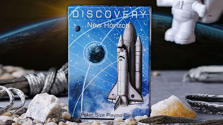 Discovery New Horizon Playing Cards - magic