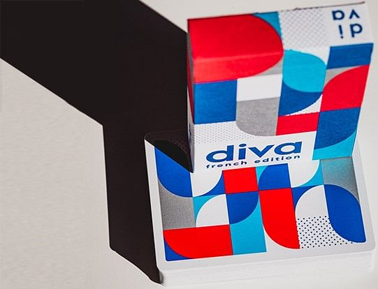 Diva Playing Cards (French Edition)
