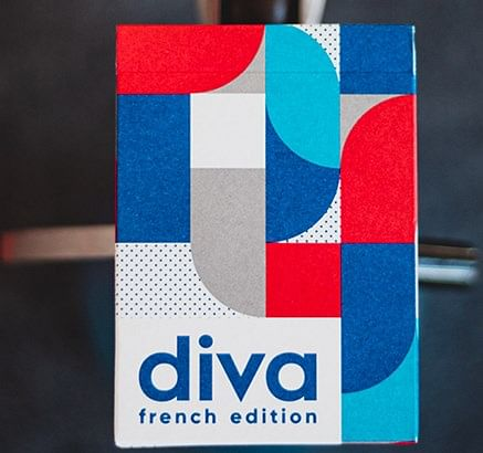 Diva Playing Cards French Edition - magic