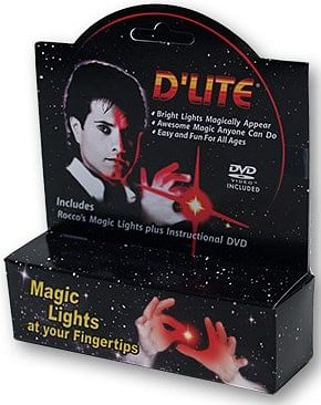 D'Lite Bonus Pack Junior Red with DVD (Pair)  - magic