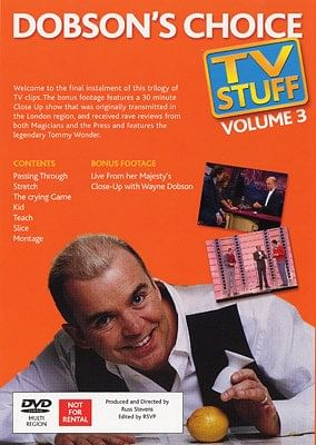 Dobson's Choice TV Stuff Volume 3