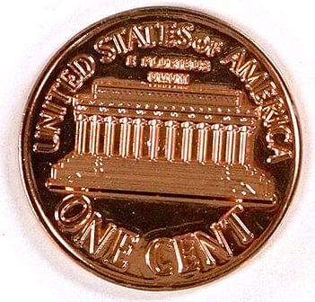 Dollar sized Penny