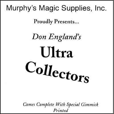 Don England's Ultra Collectors - magic