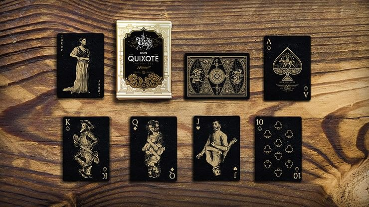 Don Quixote Volume 1 Playing Cards
