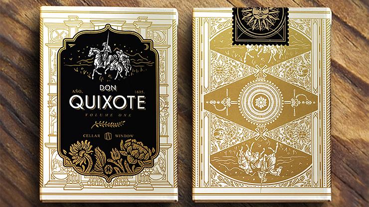 Don Quixote Volume 1 Playing Cards - magic