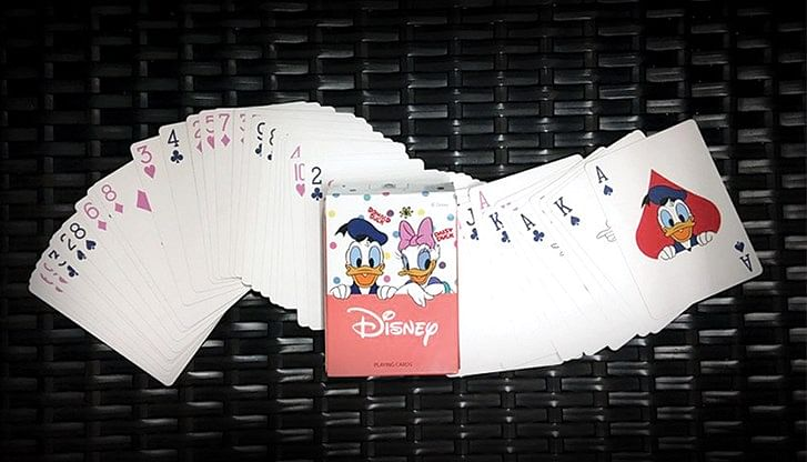 Donald and Daisy Playing Cards - magic