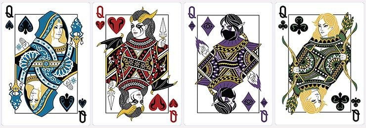 DOTA Series 2 Playing Cards (Green)