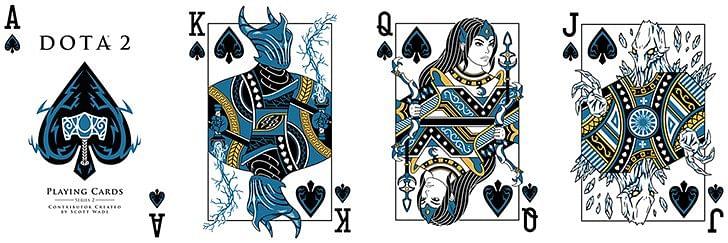 DotA 2 Playing Cards (Series 1)