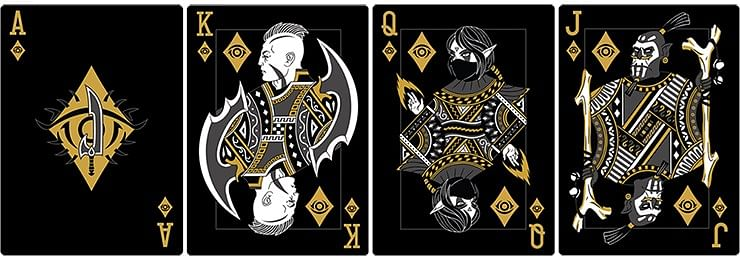 Collectable Dota 2 Playing Cards Custom Design Welovefine Playing Cards