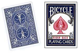 Bicycle Double Back Playing Cards - magic