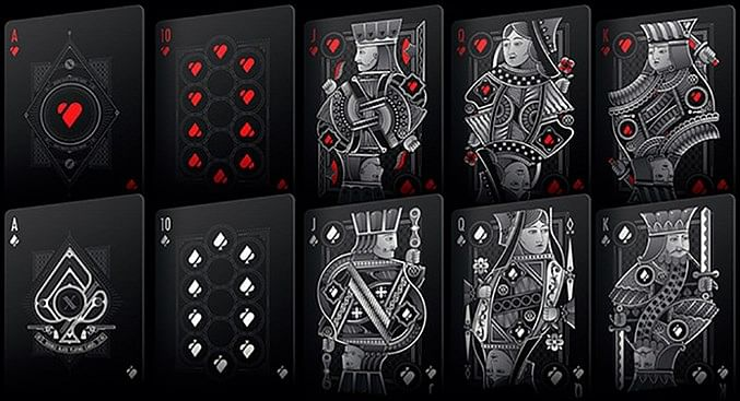 Double Black Playing Cards (Classic Edition)