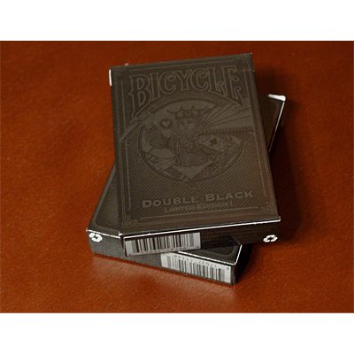 Double Black Limited I Playing Cards - magic