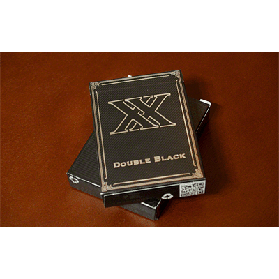 Double Black Playing Cards (Unbranded) - magic