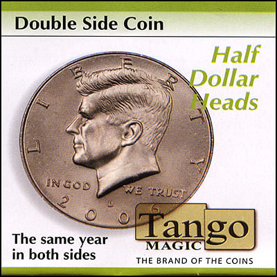 Double Sided - Half Dollar (heads) - magic