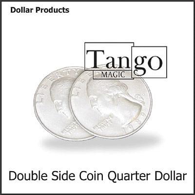 Double Sided - Quarter Dollar (heads) - magic