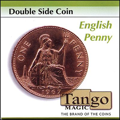 Double Sided - English Penny - magic