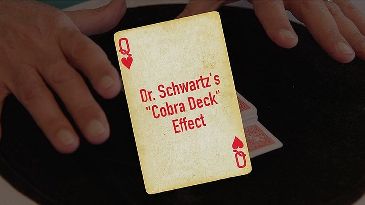Dr. Schwartz's Cobra Deck - magic