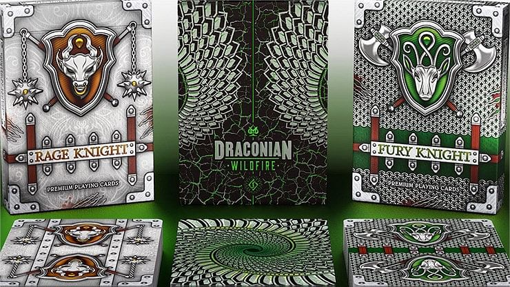 Draconian Wildfire Playing Cards