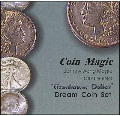 Dream Coin Set - Eisenhower Dollar - magic