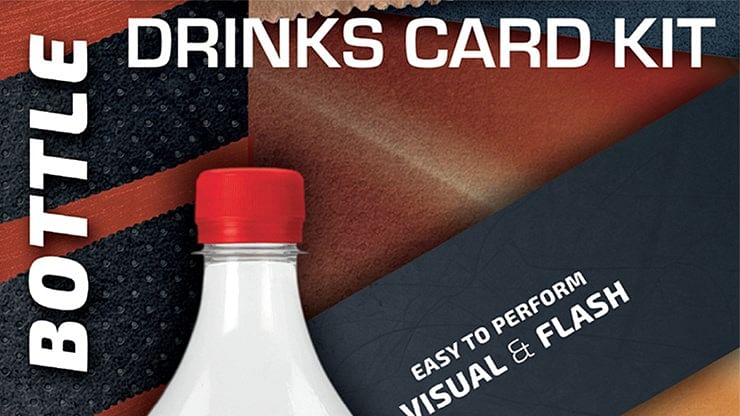 Drink Card KIT for Astonishing Bottle - magic