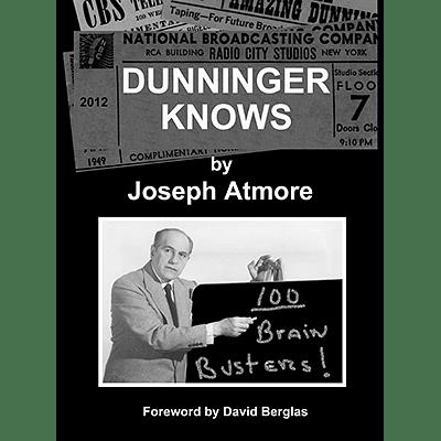 Dunninger Knows - magic