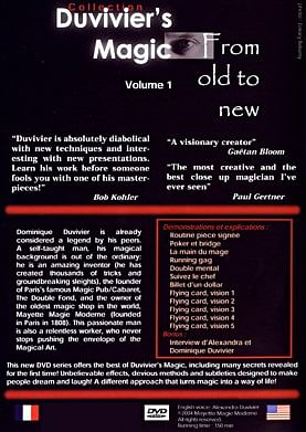 Duvivier's Magic 1: From Old to New - Volume 1