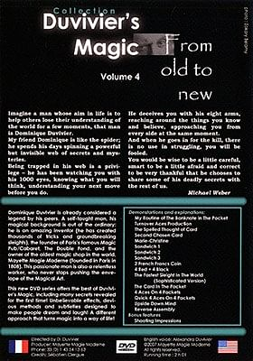 Duvivier's Magic  Volume 4: From Old To New