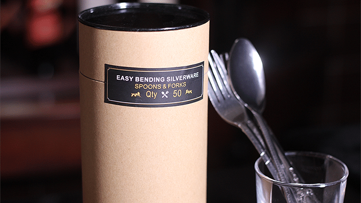 Easy Bending Silverware Spoons & Forks - magic