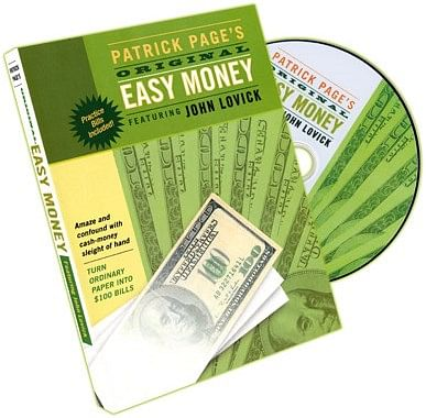 Easy Money DVD - magic