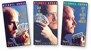 Easy to Master Card Miracles Volumes 1 - 3 - magic