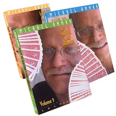 Easy to Master Card Miracles Volumes 7 - 9 - magic