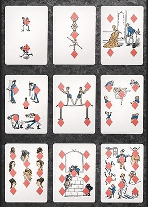Eclipse Comic Vintage Transformation Playing Cards