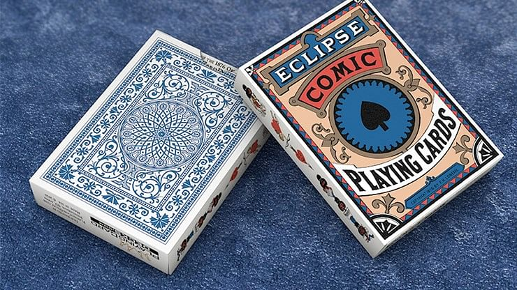 Eclipse Comic Vintage Transformation Playing Cards - magic