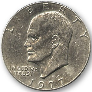 Eisenhower Dollar - magic