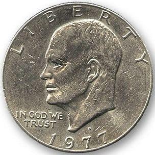 Eisenhower Dollar - magic