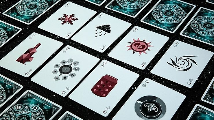 Elemental Master Playing Cards (Green Edition)