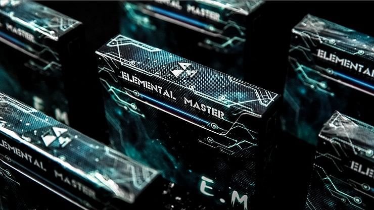 Elemental Master Playing Cards (Green Edition) - magic