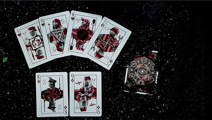 Elemental Master Playing Cards (Red Edition)