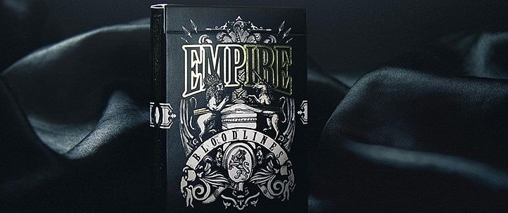 Empire Bloodlines Limited Edition Playing Cards - magic