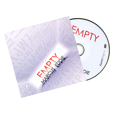 Empty (DVD and Gimmick) - magic